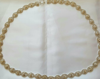 Bridal Belt - Rhinestone Sash - Thin Bridal Belt - Wedding Dress Belt - Bridal Accessories - Bridesmaid Belt - Skinny Bridal Belt
