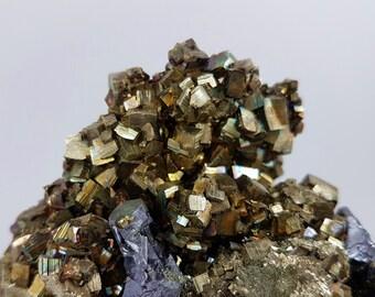 Pyrite with Galena,Sphalerite and Quartz from Madan Borieva mine