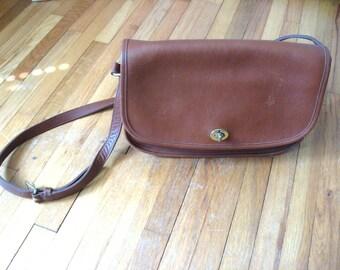 Vintage Coach Cross Body Bag 9790