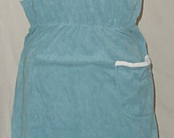 80's LOUNGE PLAY SUNDRESS  bathing suit cover up still has tag