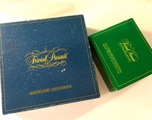 Vintage Trivial Pursuit Master Game: Genius Edition And All-Star Sports Edition Subsidiary Card Set -1980's