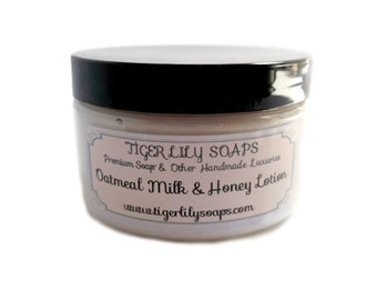 Oatmeal Milk & Honey Lotion