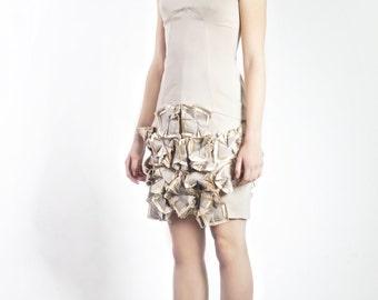 LEJLA DRESS, light beige