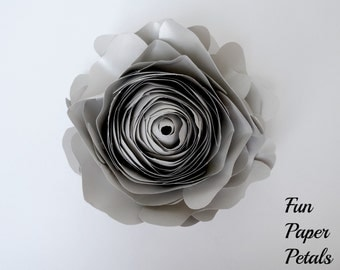 Paper Flower Flower Wall Wedding Floral Wedding Flower Wall Paper Flowers