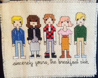 Breakfast Club Cross Stitch