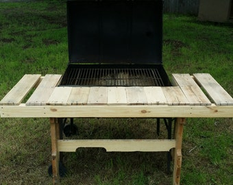 BBQ pit table