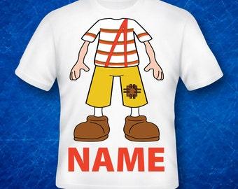 El Chavo,El Chavo Shirts,El Chavo  Birthday Shirt, Custom Made