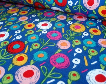 Cotton fabric Secret Garden - flowers
