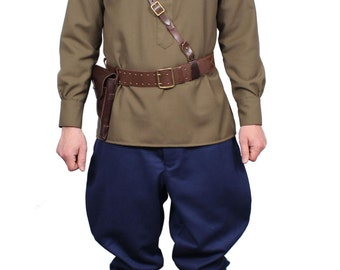 Russian Aviation Officer Red Army Uniform WWII