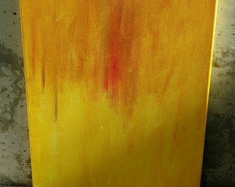 """16""""x20"""" Abstract Painting """"Flow"""""""