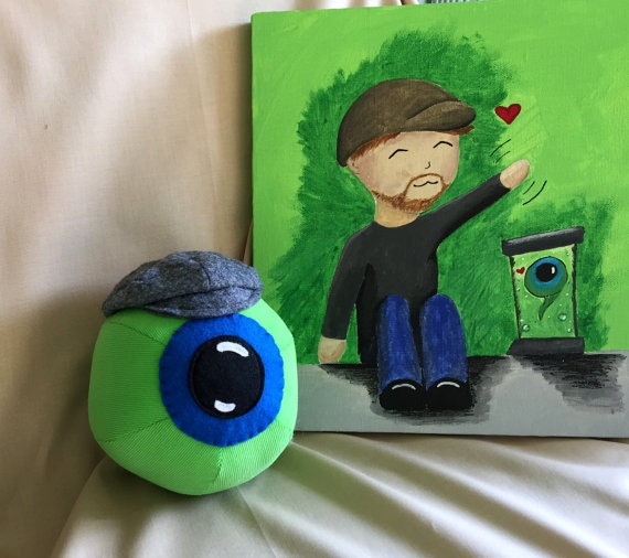 CORDUROY Jack Septic Eye Plushie With Grey Newsboy Hat