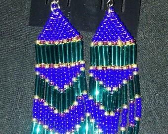 Handmade Fringe Earrings