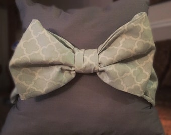 Hand made Bow throw pillow!