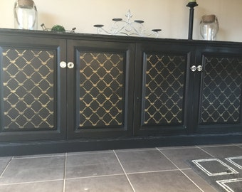 French provincial farm house sideboard
