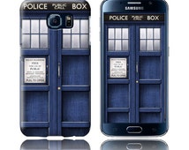 Case Doctor Who / Police Box for Galaxy S7, Galaxy S7 Edge, Galaxy S6, Galaxy S6 Edge, Galaxy S5, Galaxy S4, S3, S2, Note 5, Note 4, Note 3