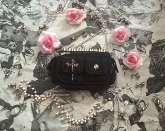 Studded vintage 90s purse