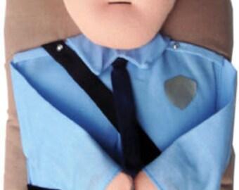 Policeman Decorative Oven Mitt