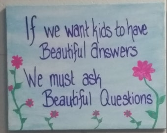 Beautiful Questions