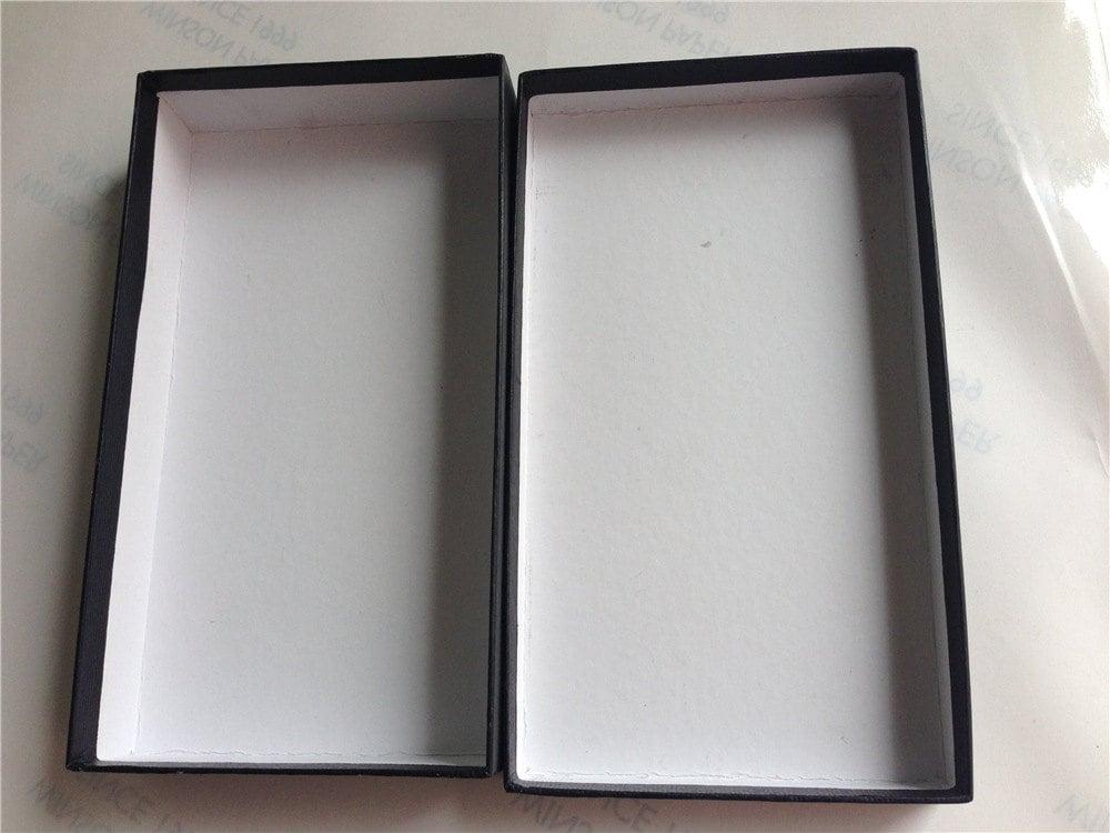 Gift boxes wallet box belt boxes kraft paper belt boxes for Black box container studios