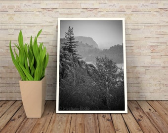 Black white art, landscape photography, Mountain photography, Nature Photography , Colorado Mountains , Rustic Wall art , Country art