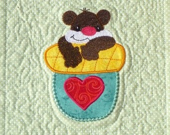 Cool Critters in A Bag Project  ( 10 Machine Embroidery Designs from ATW ) .ev07
