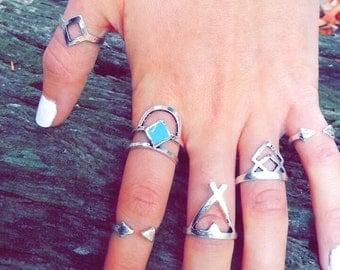 Gypsy 6 ring set
