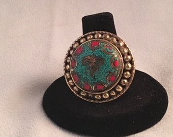 Buddha's Eye Jeweled Ring