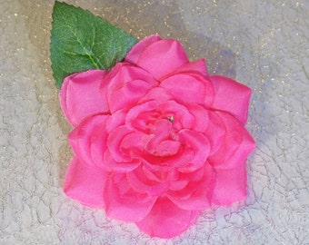 Rose In Full Bloom Barrette