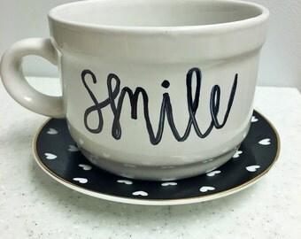 Smile Scripted Mug