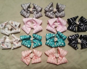 Pigtail bow lot