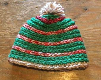 Crochet spiral hat