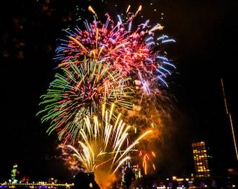 London Fireworks Photo
