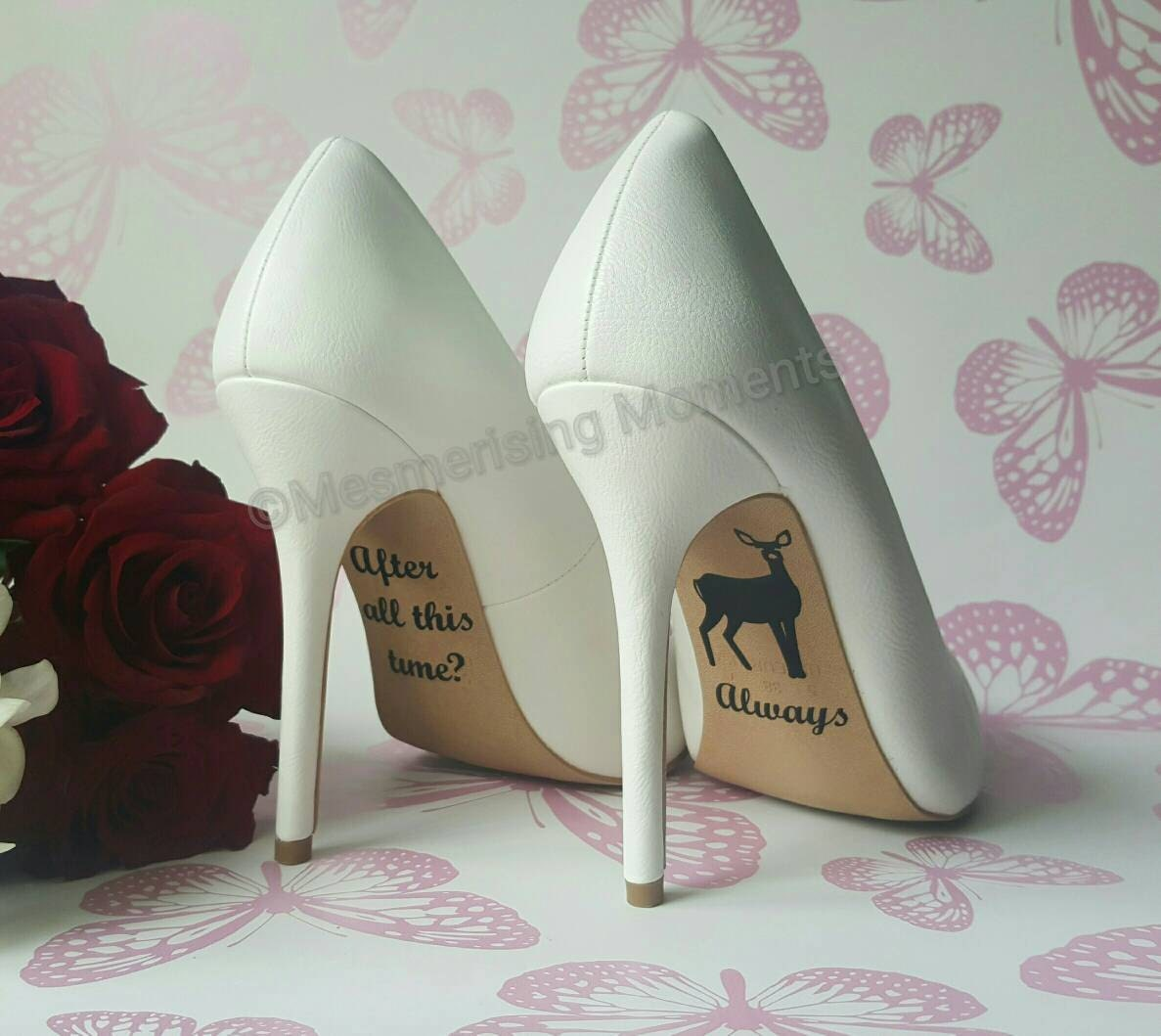 Harry Potter Inspired Wedding Shoe Decal After All This