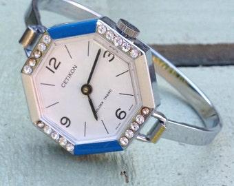 Seventies Lady vintage watch bracelet CETIKON