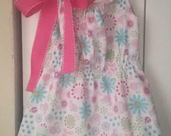 Cinched waist pillowcase dress