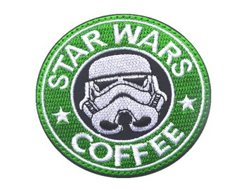 Star Wars Coffee velcro patch Include both sides of velcro patches