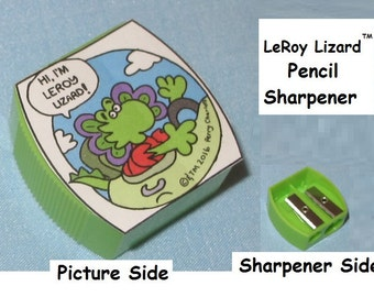LeRoy Lizard Pencil Sharpener