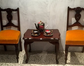 Antique Pair Of Edwardian Chairs