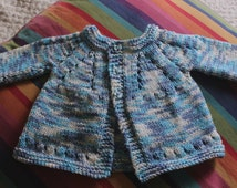 Hand Knit Baby Clothes Cardigan