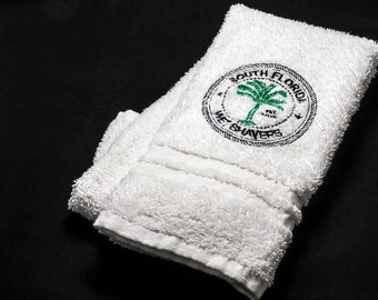 Mighty SFWS Embroidered Logo Shave Towel