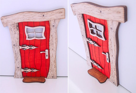Miniature Wood Elf Door