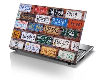 TaylorHe Laptop Skin Sticker Licence States