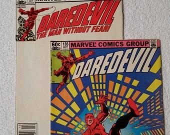 Daredevil #186 and #187