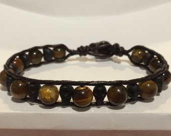 Chan luu inspired beaded bracelet 8 inch