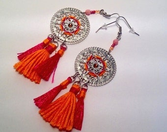 Woven earrings BOIPEBA
