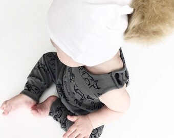 Zoo Modern / Urban Baby / Toddler Girl / Boy Romper