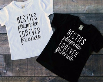 Forever friends shirt, best friend shirt, matching shirts, coordinating shirts, bestie shirt, friends forever shirt, forever friends