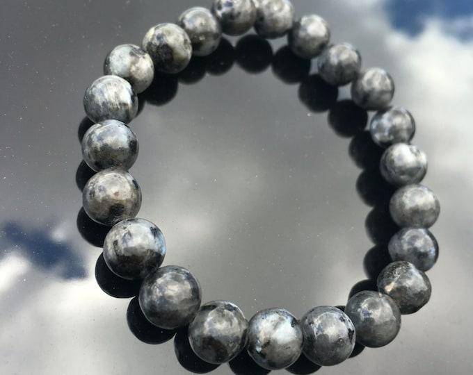 Black Labradorite healing bracelet.