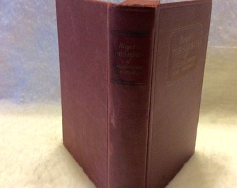 Rogets Thesaurus 1935 Simon Schuster good condition. Free shipping.