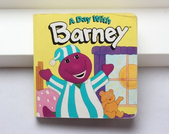 A Day with Barney Book 1994